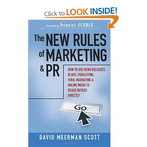 Front cover of New Rules & Marketing PR Book